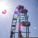 Ferris wheel - Vienna by Ken Humphreys