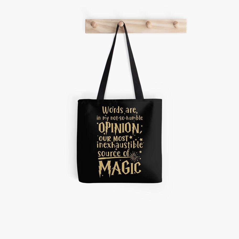 Inexhaustible source of magic Tote Bag