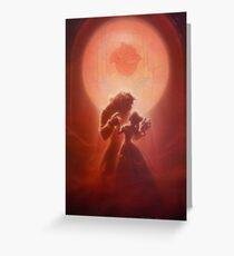 Beauty & The Beast 1 Greeting Card