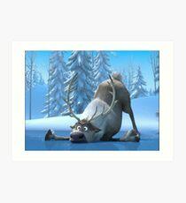 Frozen 1 Art Print
