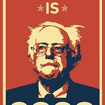 Bernie Sanders - Hindsight ist 2020 von mavisshelton