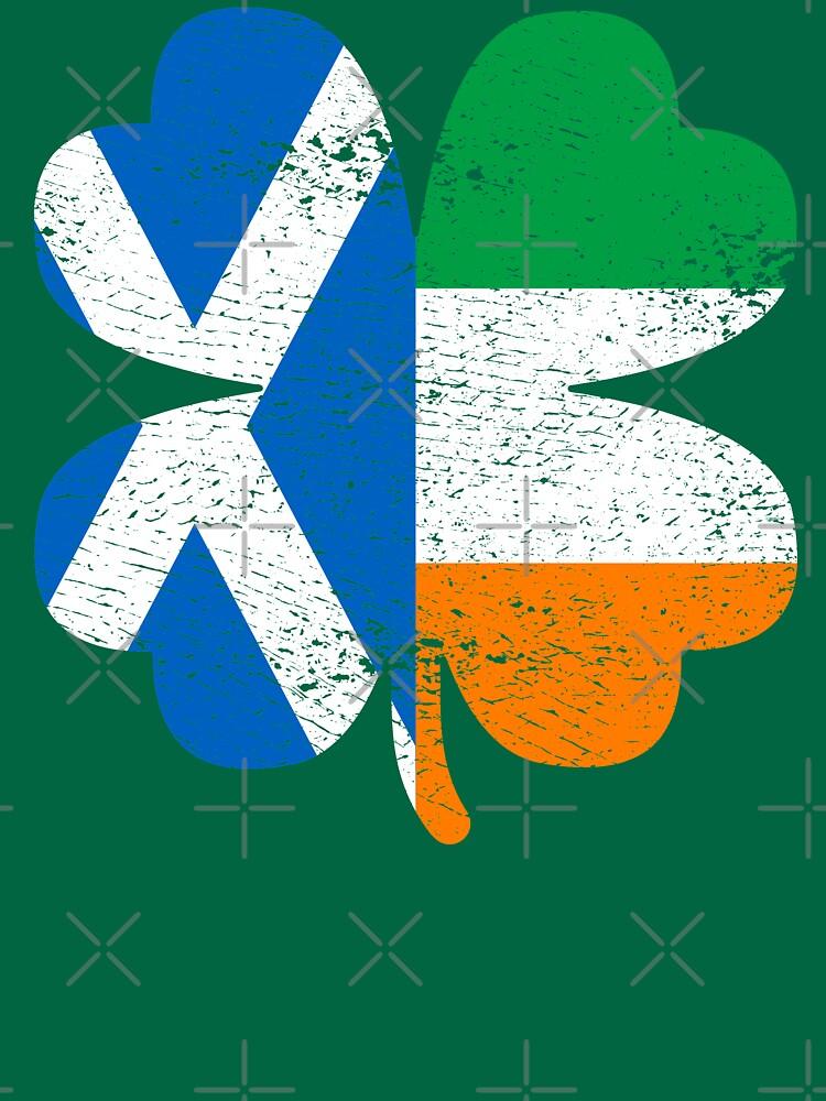 Irish Scottish Ireland Shamrock St Patricks Day Gift by efomylod