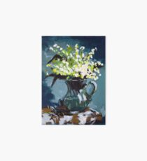 Lily of the Valley Art Board