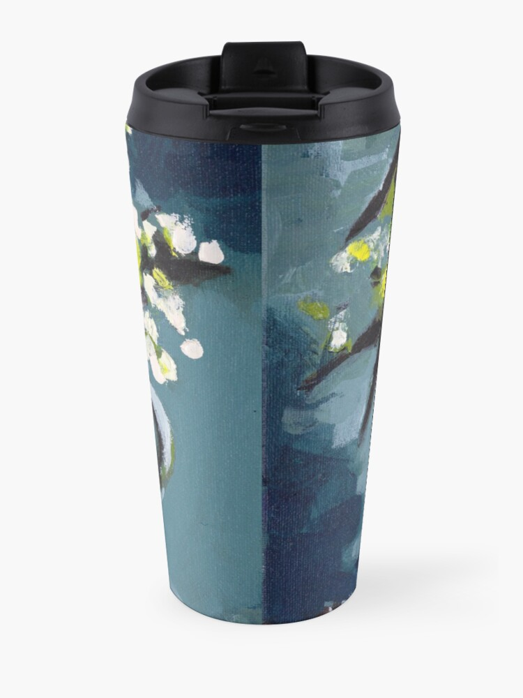 Alternate view of Lily of the Valley Travel Mug