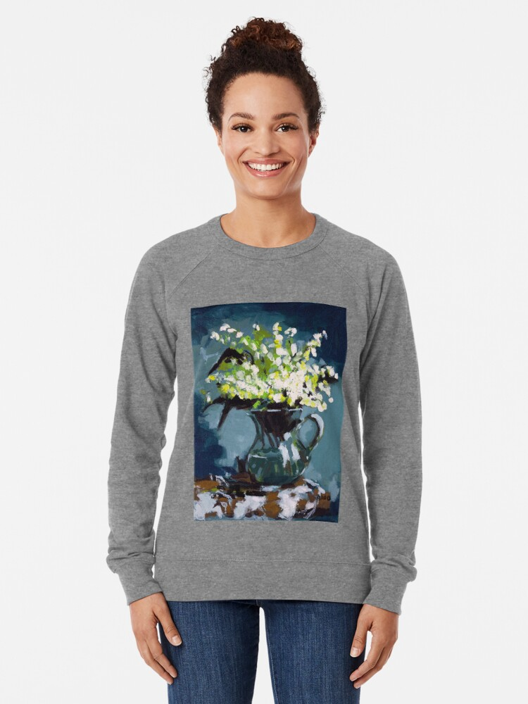 Alternate view of Lily of the Valley Lightweight Sweatshirt