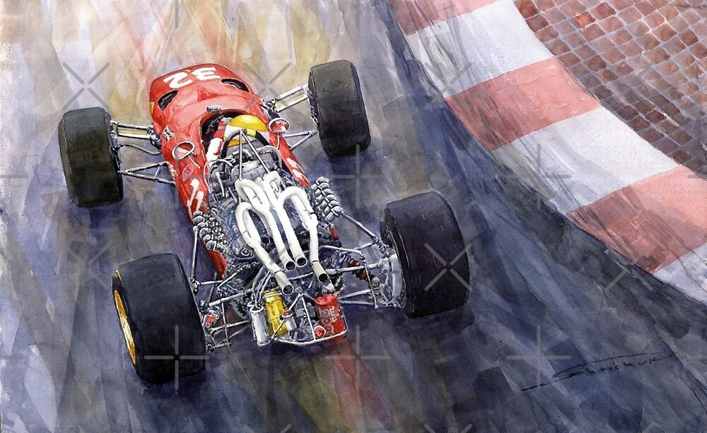 1967 Ferrari 312 F1 by Yuriy Shevchuk