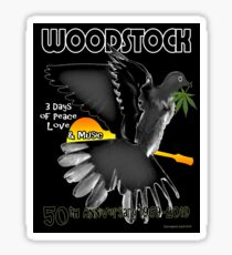 Woodstock 50th Sticker