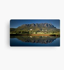 Roland Reflection Canvas Print