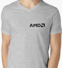 AMD V-Neck T-Shirt