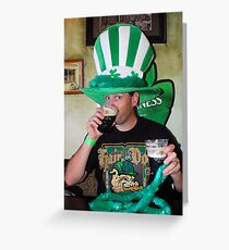 The Irish Scottsman Greeting Card