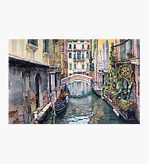 Italy Venice Trattoria Sempione Photographic Print