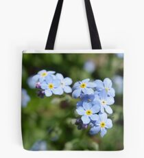 Blue Forget Me Not's Tote Bag