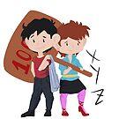 City Hunter - Ryo and Kaori by PseudoL