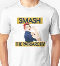 SMASH the patriarchy rosie riveter T-Shirt