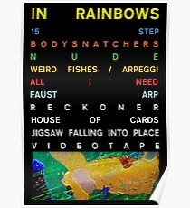 Radiohead - In Regenbogen Poster