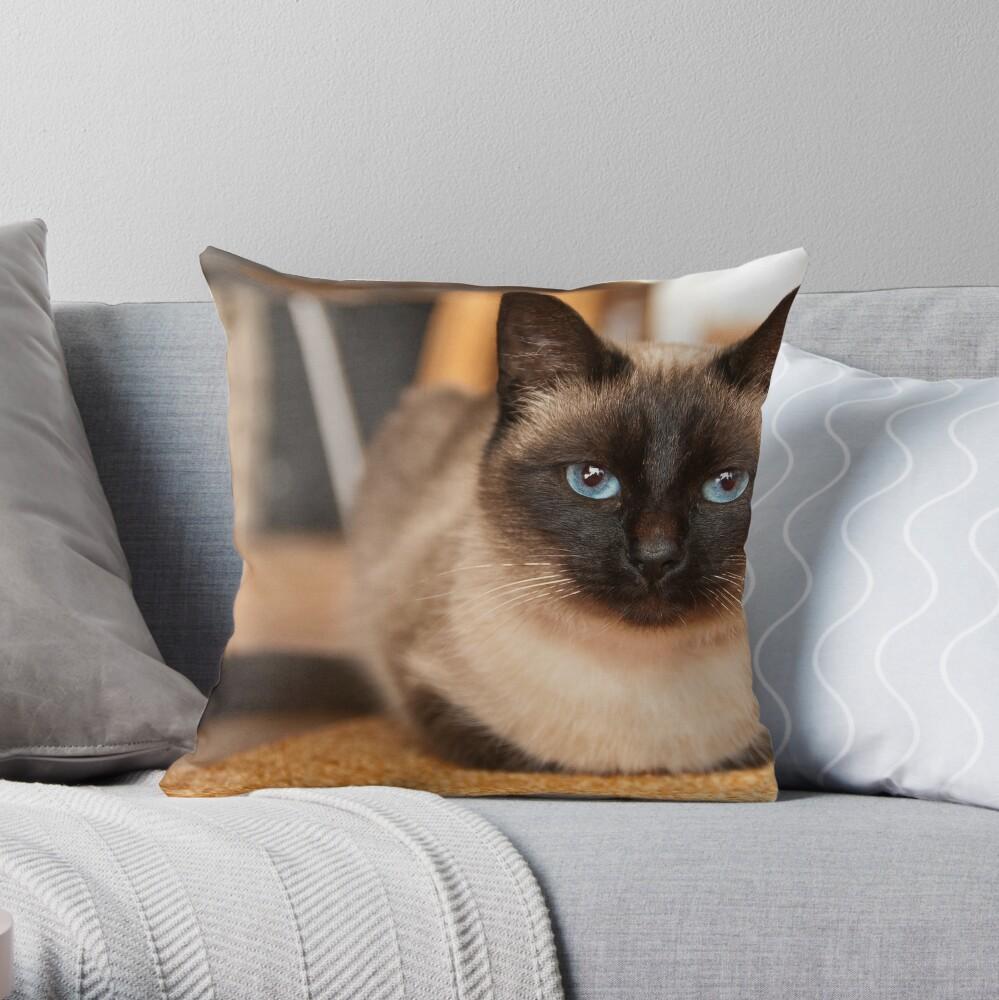 Siamesische Katze Dekokissen