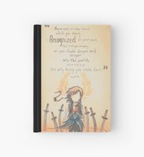 The Journey by Mary Oliver - [A Scribble] Hardcover Journal