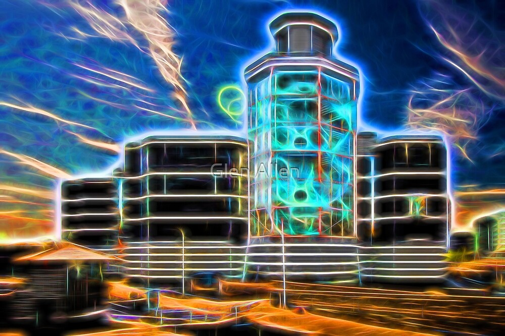The Royal Armouries Neon(ified) - Leeds by Glen Allen
