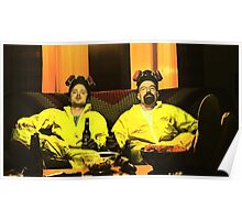 Breaking Bad - Walt and Jessie Poster