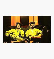Breaking Bad - Walt and Jessie Photographic Print
