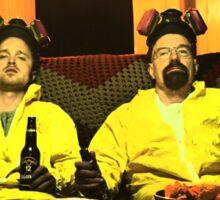 Breaking Bad - Walt and Jessie Sticker