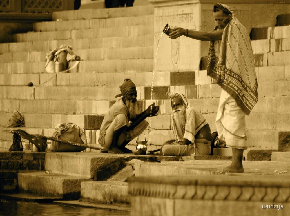 Sadu praying at holly river by wudzys
