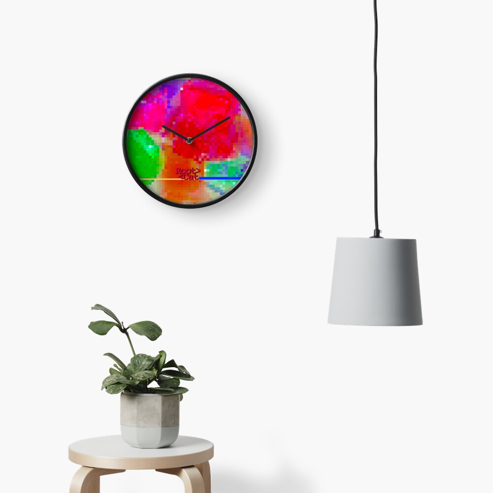 J^LLY M^ [機器間 says] Pixel Art Clock