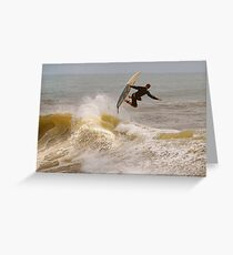 SURFER SURF Greeting Card