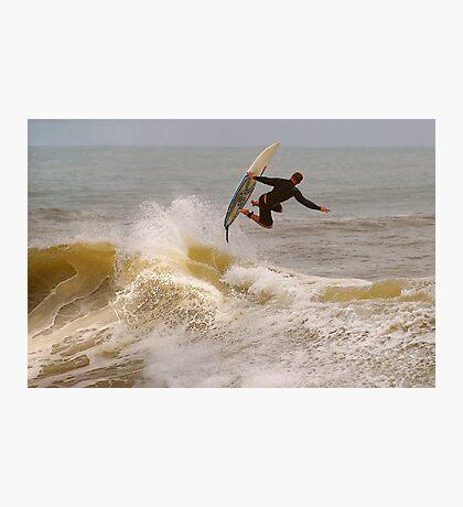SURFER SURF Photographic Print