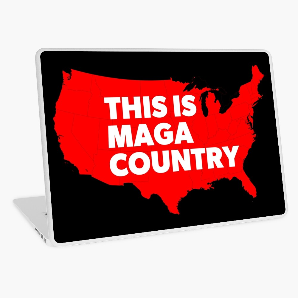 This Is MAGA Country.  Laptop Skin