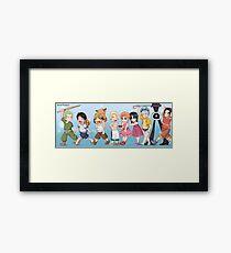 One piece children Framed Print