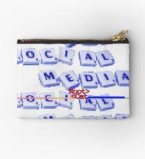 SOCI^L SCR^BBLE by RootCat Zipper Pouch