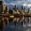 Yarra Reflection by Andrew Wilson