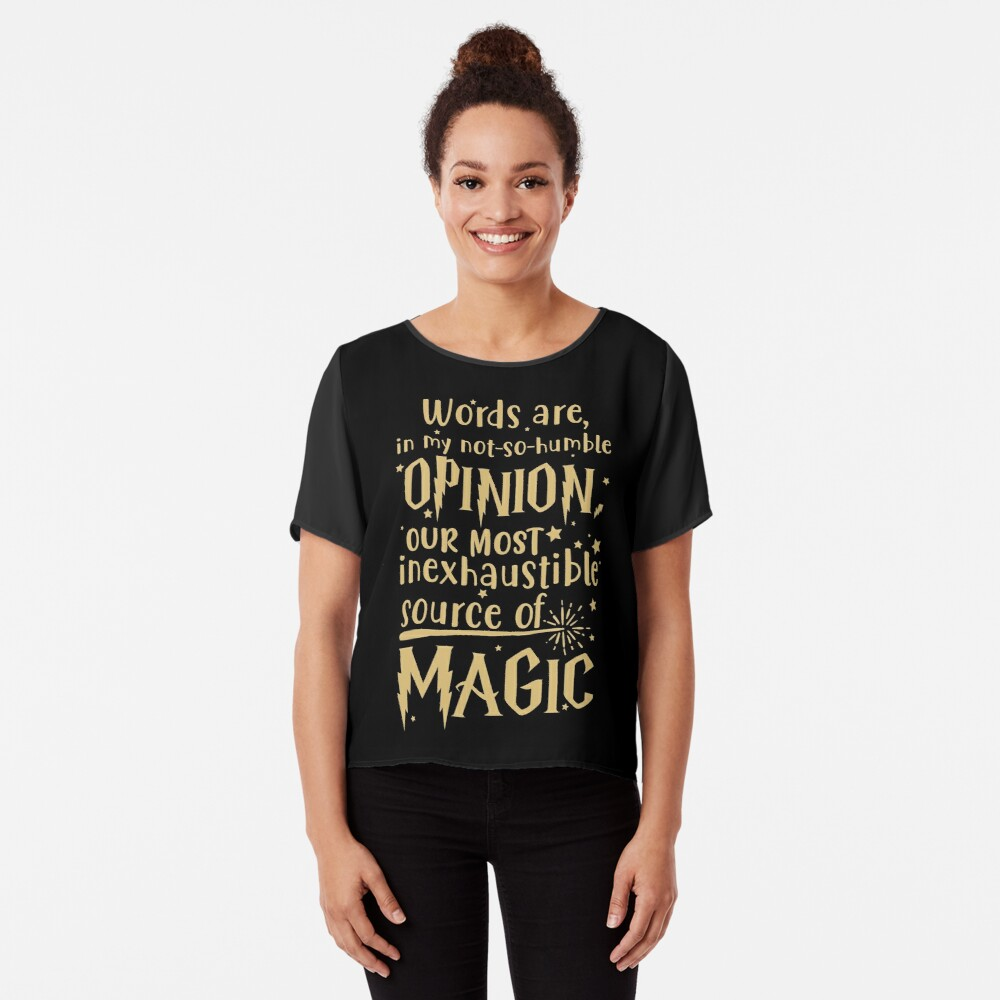 Inexhaustible source of magic Chiffon Top