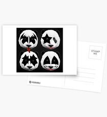 panda kiss  Postcards