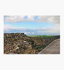 The Sassi, Matera, Basilicata, Italy Photographic Print