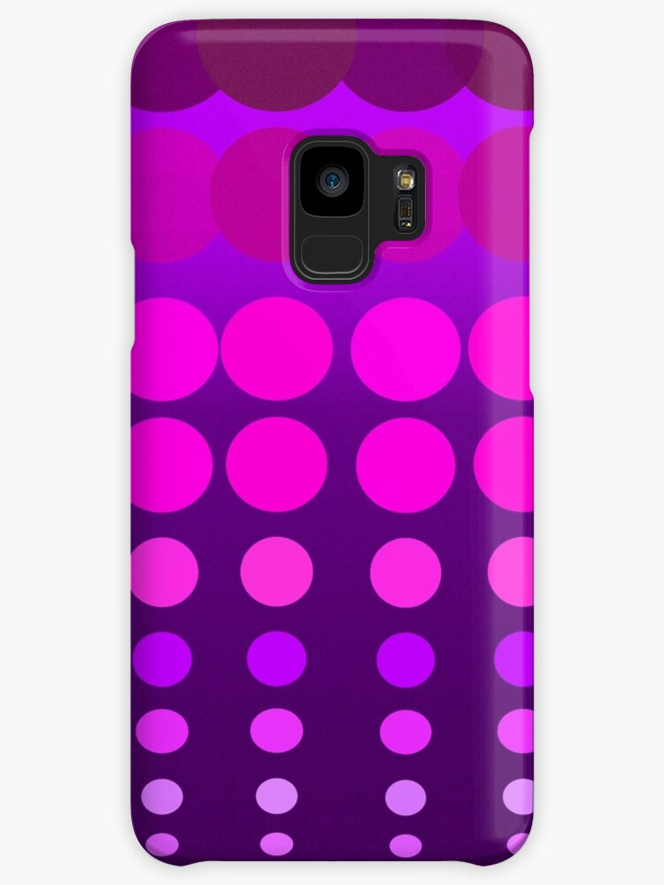 Polka Dots Madness Pink/Purple by lifecycleprints