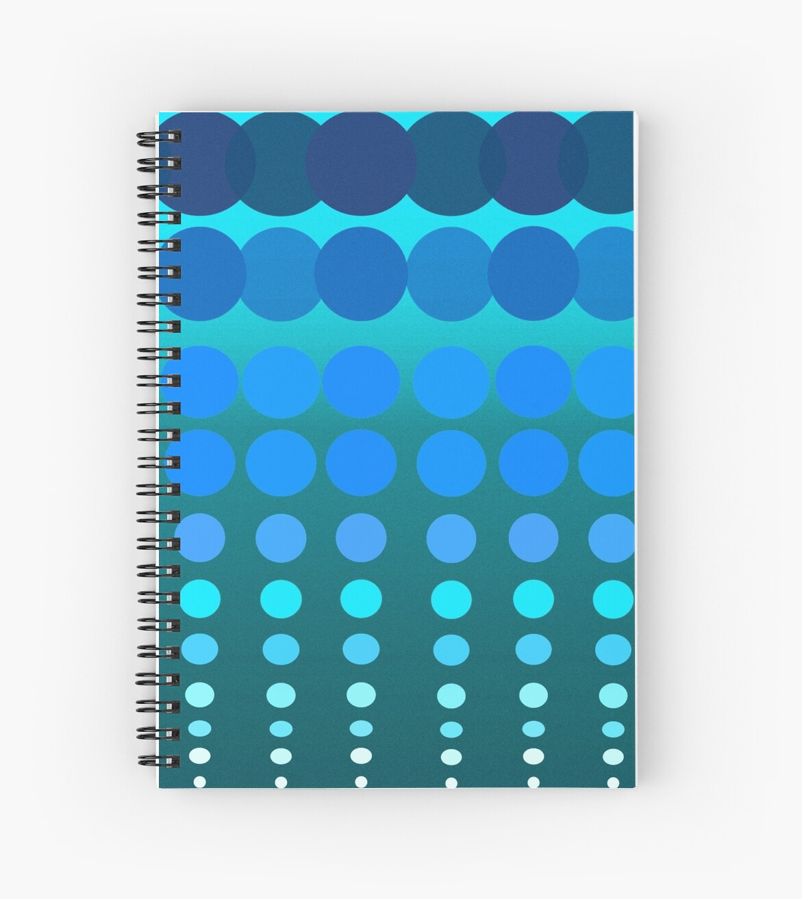 Polka Dots Madness Blue/Green by lifecycleprints