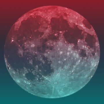 American Werewolf on the Moon (Optical iLLusion)  by fengshuibabe