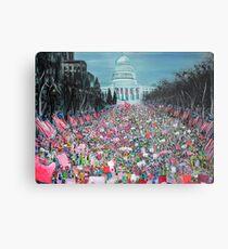 Women's March on Washington Metal Print