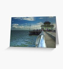St Kilda Pier Greeting Card