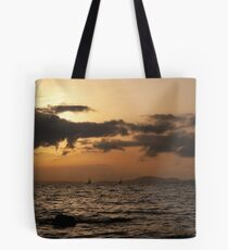 Sunset over Palma Bay Tote Bag