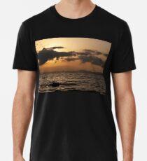 Sunset over Palma Bay Men's Premium T-Shirt