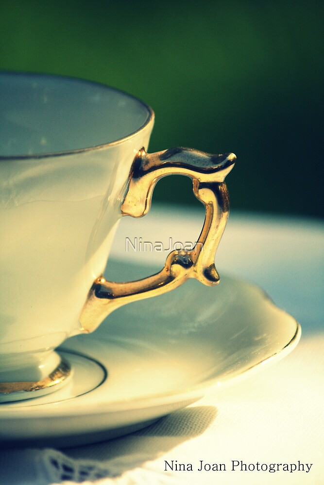 'Adeline'  - Tea Cup by NinaJoan