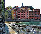 Monterosso, Italy - A View From the Seawall by T.J. Martin