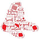 Boston Red Sox Sweet Caroline lyrics by Claire Chiarelli
