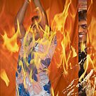 Fire Dance by Gilberte