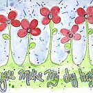You make my day bright by Deb Coats