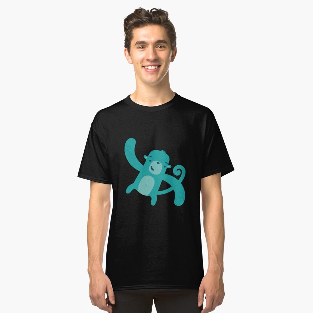 Blue Monkey Classic T-Shirt Front