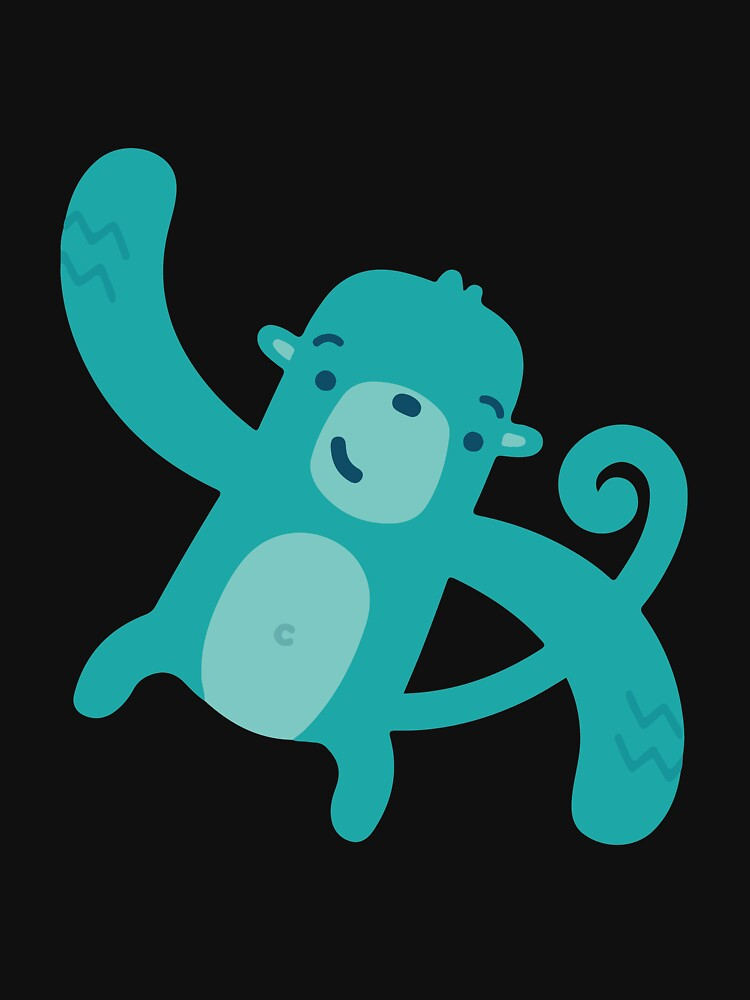 Blue Monkey by cadcamcaefea